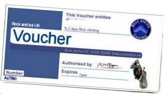 gift voucher climbing, abseiling,skydive